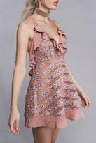 For Love & Lemons Percephone Embroidered Dress