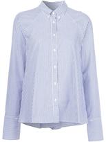 Rosie Assoulin Seersucker Button-Down Shirt