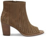 Sole Society Majorca Perforated Leaf Bootie perforated peep toe bootie