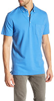 Tailorbyrd Button-Down Collar Classic Trim Fit Polo