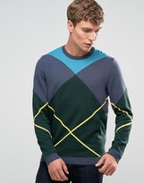 Asos Sweater with Argyle Pattern