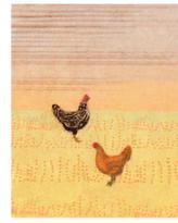 Chicken Scratch - Print