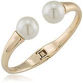 Trina Turk White Sands Faux-Pearl Cuff Bracelet