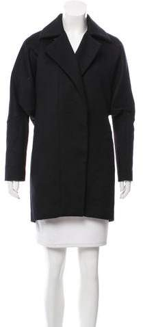 Roland Mouret Wool Short Coat