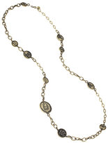 Betsey Johnson Throwback To Vintage Bj Coin Necklace