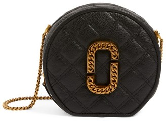 Marc Jacobs The The Leather Status Round Cross-Body Bag