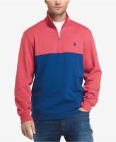 Izod Men's Soft Touch Quarter-Zip Fleece Pullover