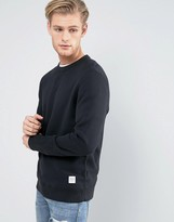 Converse Essentials Luxe Sweat In Black 10000654-a01