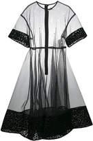 Comme des Garcons sheer dress
