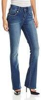 Seven7 Women's Tummy-Less Slim Boot Jean with E Loop Pockets