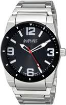 August Steiner Men's AS8152SSB Analog Display Swiss Quartz Silver Watch