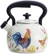 Paula Deen Signature Enamel on Steel Teakettle - Garden Rooster
