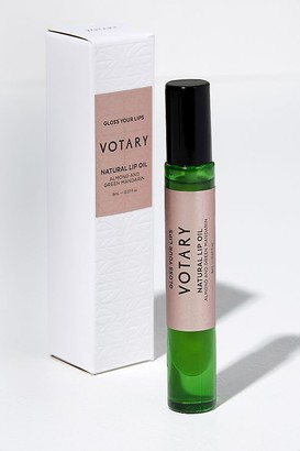 VOTARY Almond and Green Mandarin Natural Lip Oil