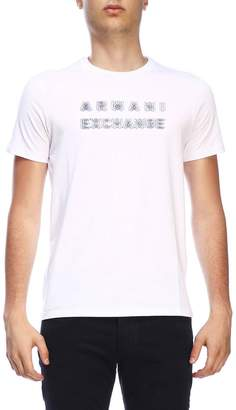 Armani Exchange T-shirt Short-sleeved T-shirt With Maxi Print