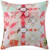 "Tracy Porter Franny Abstract Print Velvet 18"" Square Decorative Pillow"