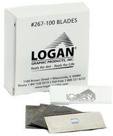 Logan Graphics Replacement Blades for 850 and T300 Mat Cutters, 100 Pack