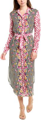Saloni Molly Silk Shirtdress