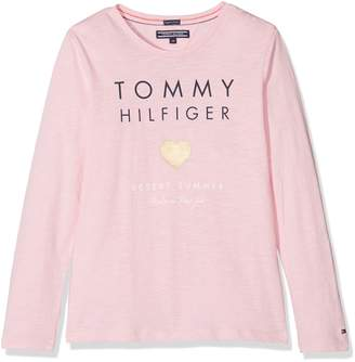 Tommy Hilfiger Tommy Girl's Essential Tee L/s T-Shirt
