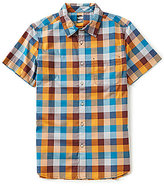 The North Face Short-Sleeve Plaid Road Trip Shirt
