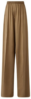 Joseph Silk Satin Taffy Trousers