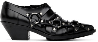 Junya Watanabe Black Harness Low Heels