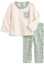 Toddler Girl's Mini Boden Jersey Play Shirt & Leggings Set