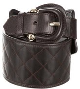 Burberry Quilted Waist Belt