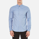 A.p.c. Chemise Button Down Shirt Bleu