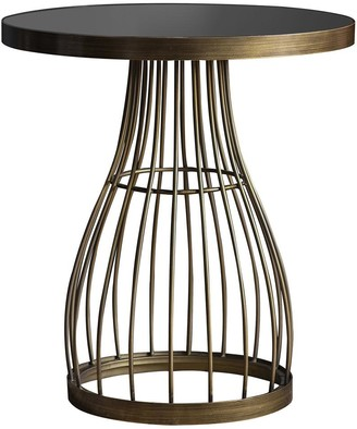 Gda Sidmouth Side Table Antique Brass