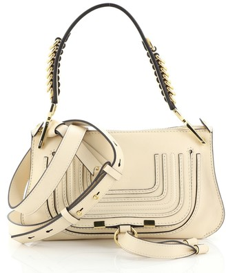 Chloé Marcie Saddle Shoulder Bag Leather Small