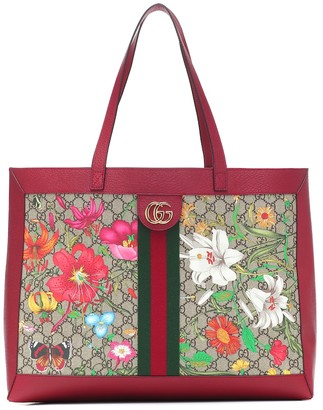 Gucci Ophidia GG Flora Medium tote