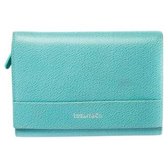 Tiffany & Co. Blue Leather Wallets