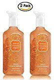 Bath and Body Works Deep Cleansing Hand Soap 8 Ounce, 2 Pack, Warm Vanilla Sugar