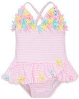 Little Me Baby Girls Baby Girls Striped Swimsuit