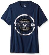 True Religion Men's Metallic Crafted With Pride Short Sleeve Tee2
