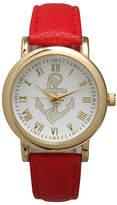 OLIVIA PRATT Olivia Pratt Floral Unisex Red Bracelet Watch-15322red