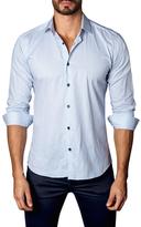 Jared Lang Cotton Melange Button-Down Sportshirt