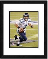 "Wilson Seattle Seahawks Russell Super Bowl XLVIII Framed 14"" x 11"" Player Photo"