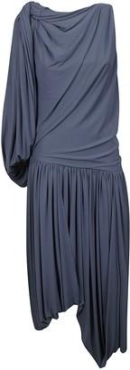 J.W.Anderson One Sleeve Draped Dress