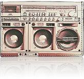 Paul Smith Men's Stereo-Print Card Case-BLACK