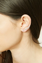 Forever 21 FOREVER 21+ Rhinestone Stud And Ear Pin Set
