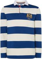 Howick Sullivan Block Stripe Long Sleeve Rugby Shirt