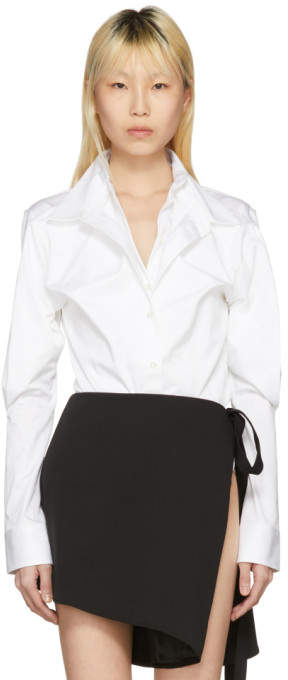 Y/Project White Double Front Shirt