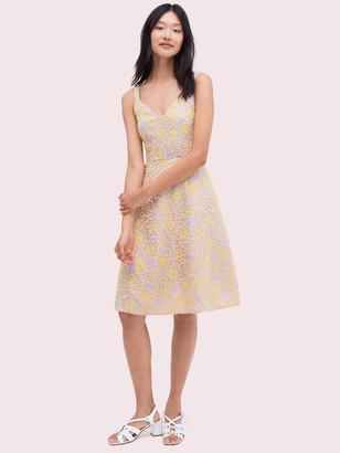 Kate Spade Floral Organza Dress