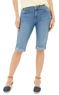Style&Co. Style & Co Cuffed Skinny Skimmer Jeans, Created for Macy's