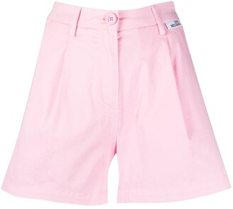 Love Moschino Wide-Leg Shorts