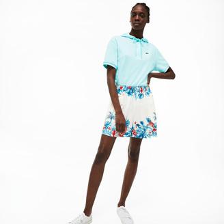 Lacoste Women's Elasticized Waistband Shorts