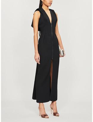 Maticevski Sleeveless zipped crepe dress