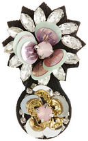 Expression Flowers Navette Brooch