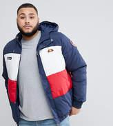 Ellesse Plus Ski Padded Jacket With Logo Hood